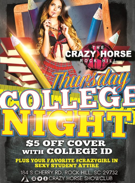 (Copy) College Night Thursday